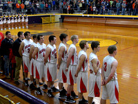 DHS Boys Basketball vs Advance 2013
