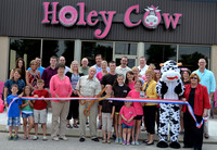Holey Cow Cafe Ribbon Cutting 6/6/13