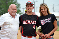 DHS Senior Night - Baseball 2014