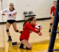 DHS Volleyball vs Fredericktown District Semifinal Oct 17, 2017
