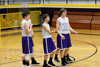 2017 Purple and Gold Games Bloomfield Basketball