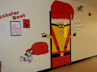 DHS Christmas Door Decorations 2016