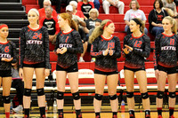 DHS Volleyball vs Notre Dame District 2016
